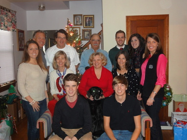 2012 Christmas Recap: round 1 of Christmas celebrations for the family #PreppyPlanner