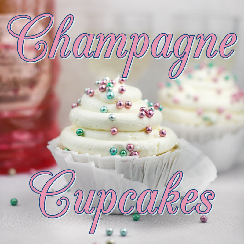Champagne Cupcakes #PreppyPlanner