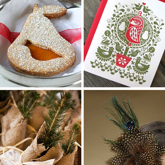 12 Days of Christmas Wedding Inspirations: A Partridge in a Pair Tree #PreppyPlanner