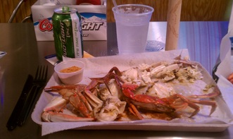 Amazing blue crabs from I Got Your Crabs in OBX #PreppyPlanner