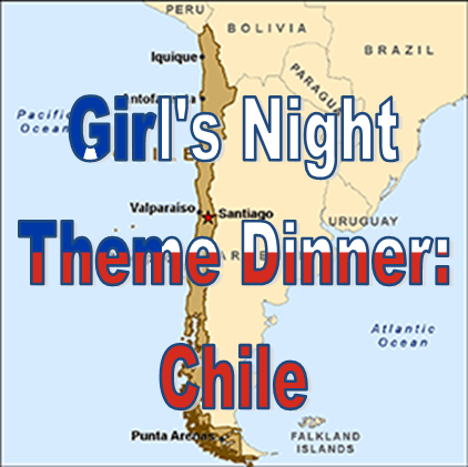 Weekend Recap: Theme Dinner - Chile #PreppyPlanner