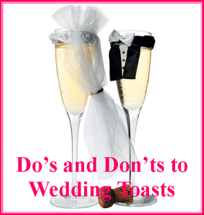 Ten Toasting Do's and Don'ts #PreppyPlanner