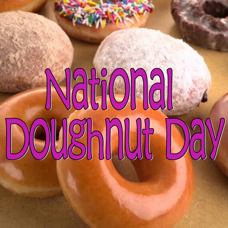 Tuesday Ten: National Doughnut Day #PreppyPlanner
