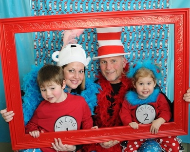 Dr.Seuss Celebration Photo Booth #PreppyPlanner