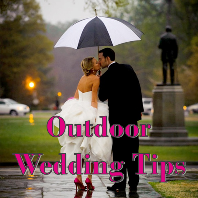 Wedding Wednesday: Outdoor Wedding Tips #PreppyPlanner