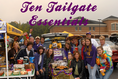 here is your list of ten essential items that you need for any tailgate party #PreppyPlanner