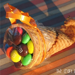 Thanksgiving Cornucopia Treats #PreppyPlanner