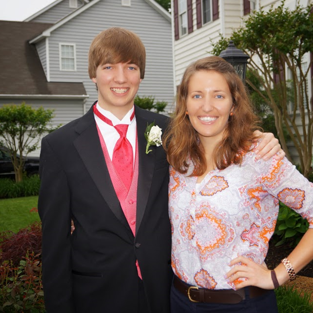 Senior Prom: Me and my little brother before prom #PreppyPlanner