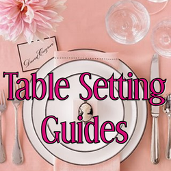 Wedding Wednesday: Table Setting Guides #PreppyPlanner