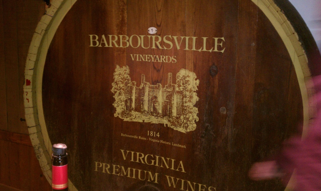 Day of Wine Tasting at Barboursville Vineyards #PreppyPlanner