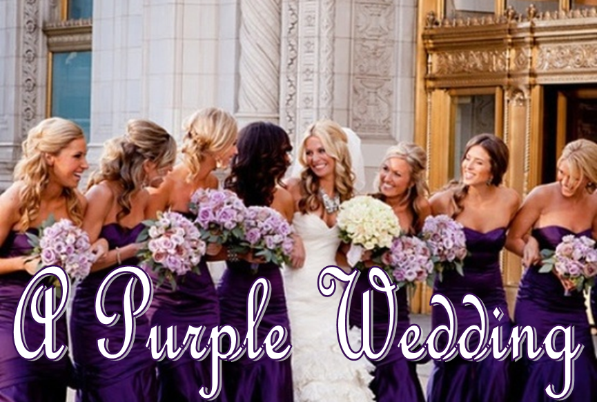 Wedding Wednesday: Purple #PreppyPlanner