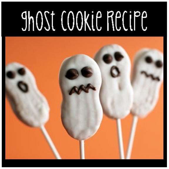 Halloween Ghost Cookies #PreppyPlanner