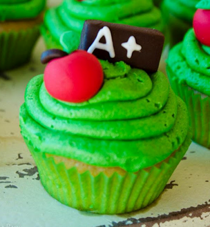 make your cupcakes an A+ treat that everyone can ace #PreppyPlanner