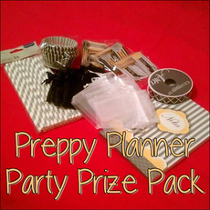 Enter to win this Preppy Planner Anniversary Celebration Party Prize Package! #PreppyPlanner