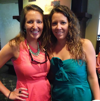 A Wedding Weekend: my sister and I at the reception #PreppyPlanner