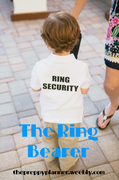 Wedding Wednesday: The Ring Bearer #PreppyPlanner
