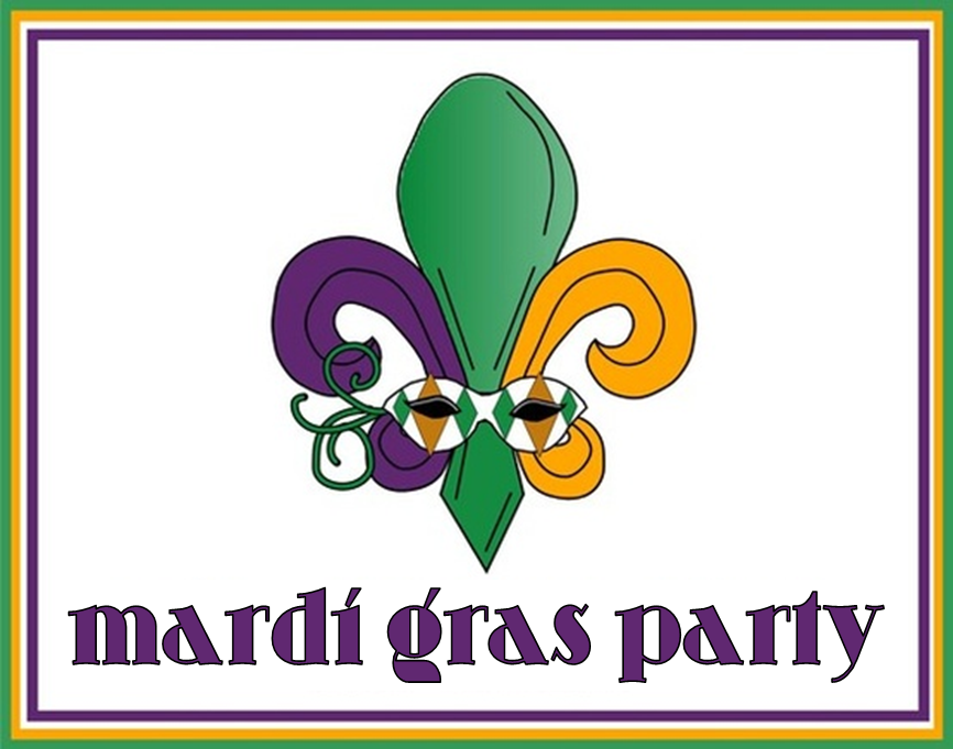 Mardi Gras Party #PreppyPlanner