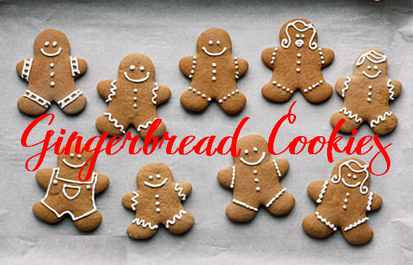 Great recipe for making delicious gingerbread cookies #PreppyPlanner