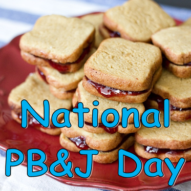 Tuesday Ten: National Peanut Butter and Jelly Day #PreppyPlanner
