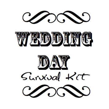 Wedding Wednesday: Wedding Survival Kit #PreppyPlanner