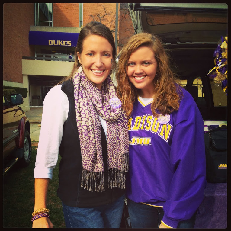 Football Season Photo Diary: Enjoying our lst tailgate of the 2013 football season at JMU #PreppyPlanner