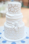 Wedding Wednesday: Lace Inspired Wedding Cakes #PreppyPlanner