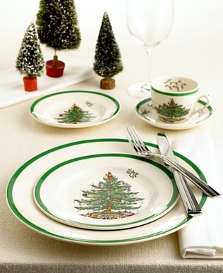 Christmas Dinner Essentials: Christmas China #PreppyPlanner