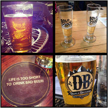 Spring Photo Diary: A sampling of delicious brews from some of the local beer and cider venues #PreppyPlanner