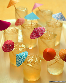 Summer Party Crafts: Drink Umbrellas #PreppyPlanner