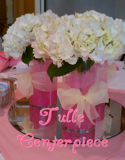 Events blog the preppy planner diy instructions to create these tulle centerpieces preppyplanner junglespirit Choice Image