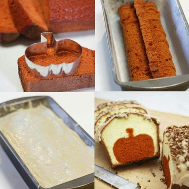 Pumpkin Pound Cake Recipe Instructions #PreppyPlanner