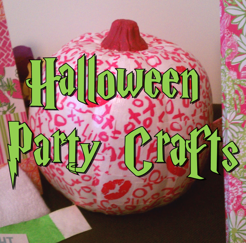 Halloween Party Crafts #PreppyPlanner