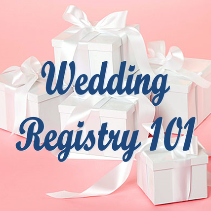 Wedding Wednesday: How to Create the Perfect Wedding Registry for You! #PreppyPlanner