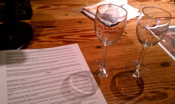 Day of Wine Tasting at Barboursville Vineyards: So many wines to choose from! #PreppyPlanner