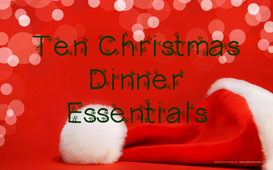 My list of ten essentials for the perfect Christmas Dinner #PreppyPlanner